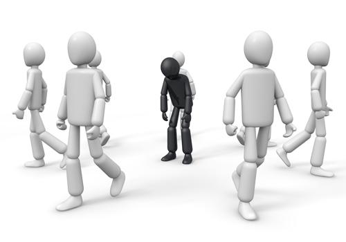 就活の孤立化