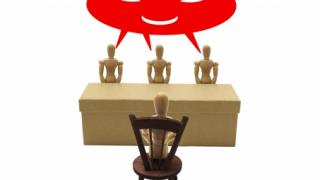 圧迫面接をしない会社を見極める就活生の例